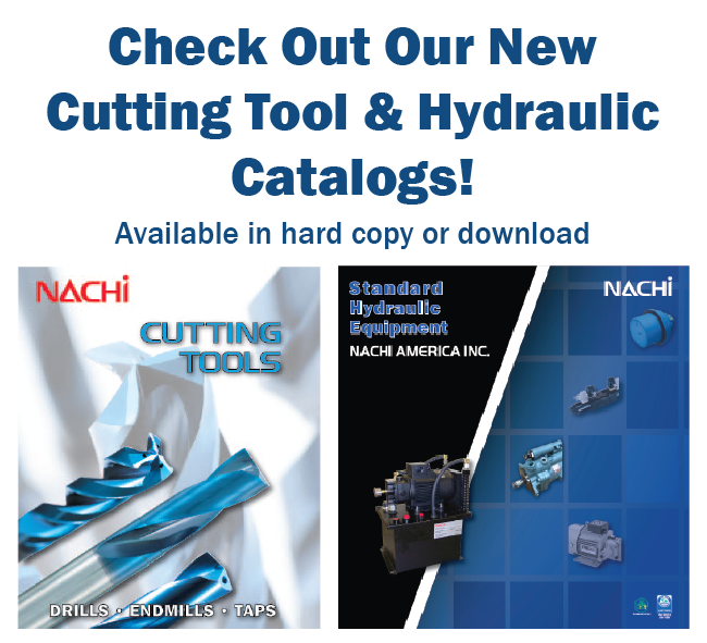 New NACHI Catalogs