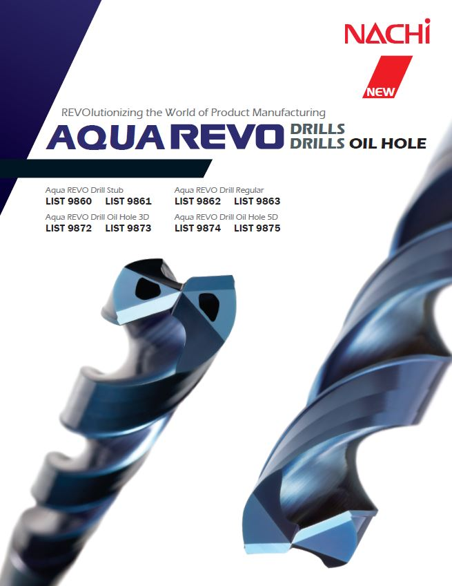 INTRODUCING THE NEW AQUA REVO OIL HOLE DRILL!