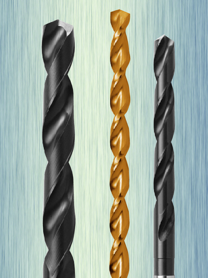 HSS STRAIGHT SHANK TAPER LENGTH DRILLS Image