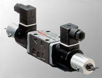 Electro - Hydraulic Proportional Flow and Directional Control Valve Image